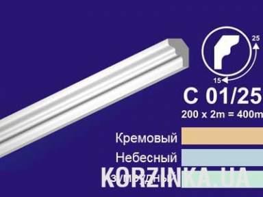 Потолочный карниз Solid C 01/25