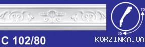 Потолочный карниз  Solid C 102/80