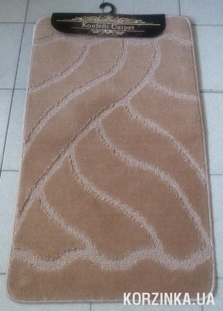 Набор ковриков для ванной комнаты и туалета Classic Smart светло-коричневый