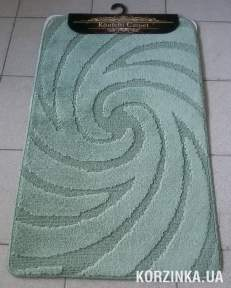 Набор ковриков для ванной комнаты и туалета Classic Smart оливковый