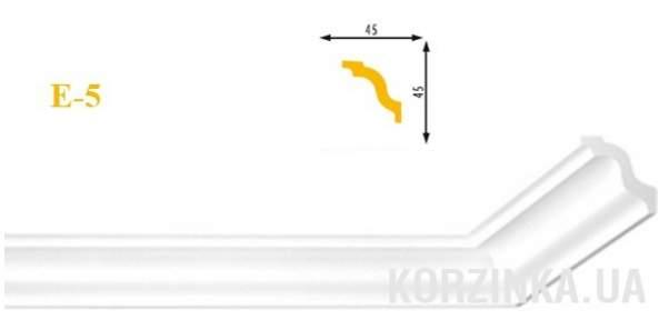Потолочный плинтус Marbet Люкс Е-5