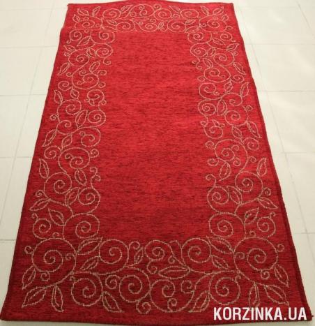 Ковер Natura Рогожка красная  0,8х1,5 м