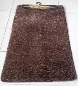 Набор ковриков для ванной комнаты и туалета Synergy Polyester коричневый
