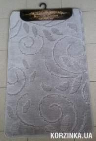 Набор ковриков для ванной комнаты и туалета Classic Smart серый