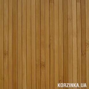 Бамбуковые обои Темный лак 12мм