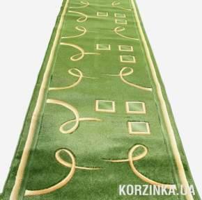 Ковровая дорожка Роза 0512 зеленая