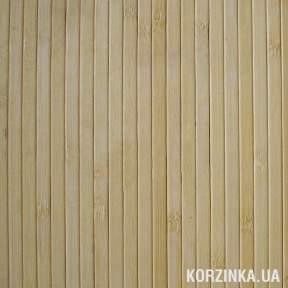 Бамбуковые обои Светлый лак 12мм