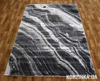 Ковер LOW CANYON 121HA grey/d.grey