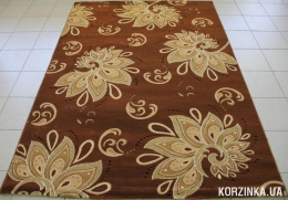 Ковер Turina 8009  brown/d.beige 1,6х2,3м