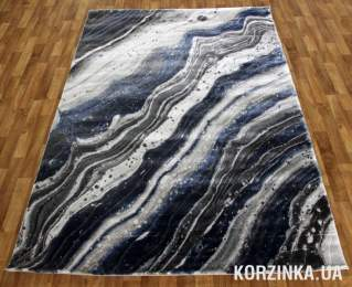 Ковер LOW CANYON 121HA d.blue/d.grey