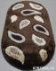Ковер  Pacific 2055 brown размер 0,8*1,5 м